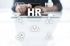 Human resource management, HR, recruitment, leadership and teambuilding. Royalty Free Stock Image