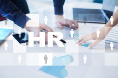 Human resource management, HR, recruitment, leadership and teambuilding. Royalty Free Stock Photos