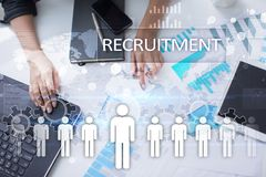 Human resource management, HR, recruitment, leadership and teambuilding. Stock Images