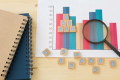 Human resource management. Risk management concept Stock Images