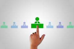 Human Resource Management. Teamwork concept, business recruitment stock photos