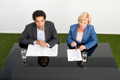 Human Resource managers Royalty Free Stock Photography