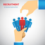 Human resource and recruitment Stock Photography