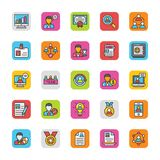 Human Resource Vector Icons Set 1 Royalty Free Stock Photography