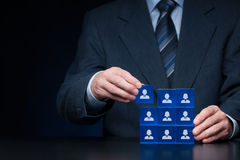Human resources Royalty Free Stock Photography