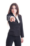 Human resources agent selecting or choosing new employee concept Royalty Free Stock Photo