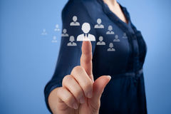 Free Human Resources And CRM Royalty Free Stock Image - 28691216