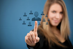 Free Human Resources And CRM Stock Images - 29716014