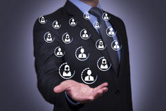 Human Resources Business Conceptual Royalty Free Stock Photos