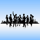 Human resources concept Stock Image