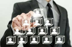 Human resources concept Stock Images
