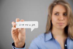 Youth unemployment Royalty Free Stock Photo