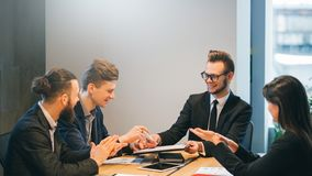 Human resources department hiring personnel royalty free stock image