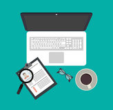 Human resources design Royalty Free Stock Photography