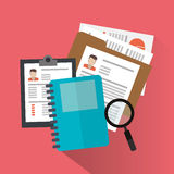 Human resources design Stock Photography