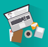 Human resources design Royalty Free Stock Photos