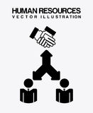 Human resources design Stock Images