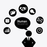 Human resources design. Stock Photo