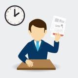 Human resources design. Human resources over white background design, vector illustration royalty free illustration
