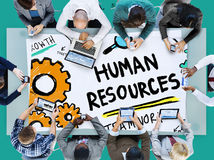 Human Resources Employment Job Recruitment Profession Concept Stock Photo