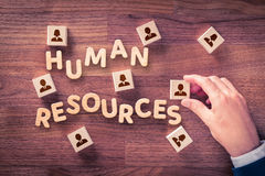 Human resources HR Royalty Free Stock Photos