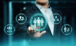Human Resources HR management Recruitment Employment Headhunting Concept.  stock photos