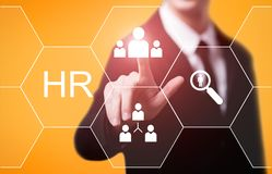 Human Resources HR management Recruitment Employment Headhunting Concept Stock Photo