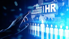 Human Resources, HR management, Recruitment, Talent Wanted, Employment Business Concept. Human Resources, HR management Recruitment, Talent Wanted, Employment royalty free stock images