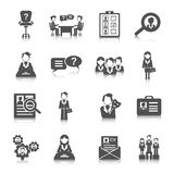 Human Resources Icon Royalty Free Stock Images