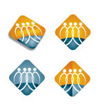Human resources  - Icon set Royalty Free Stock Image