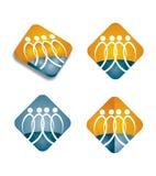 Human resources  - Icon set Royalty Free Stock Image