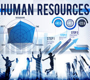Human Resources Job Occupation Employment Concept Royalty Free Stock Photography