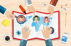 Human Resources Management Concept, Royalty Free Stock Images