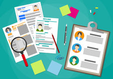 Human resources management concept Royalty Free Stock Photography