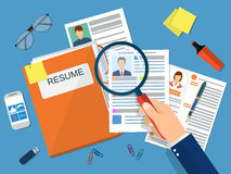 Human resources management concept, Stock Photography