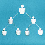 Human resources and management icons set. Stock Image