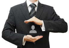 Human resources managment concept Stock Photo