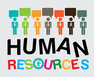 Human resources Royalty Free Stock Image