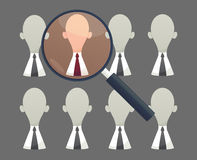 Human resources - Personnel audit and assessment center Royalty Free Stock Photos