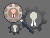 Human resources - Personnel audit and assessment center Royalty Free Stock Photo