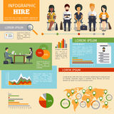 Human resources personnel recruitment vector Royalty Free Stock Photography
