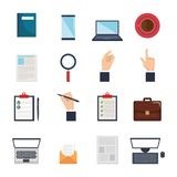Human resources set icons. Vector illustration design Royalty Free Stock Photos