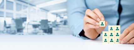 Human resources Stock Photography