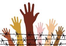 Human rights royalty free illustration