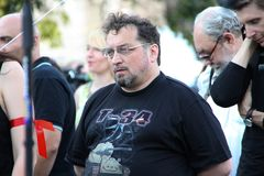 Human rights activist Andrey Babushkin Stock Image