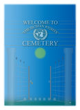Human rights cemetery Royalty Free Stock Images