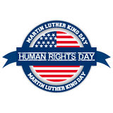 Human Rights Day. An abstract illustration on Human Rights Day Stock Photography