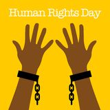 Human Rights Day Vector Template Stock Photo