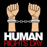 Human Rights Day Vector Template Royalty Free Stock Image