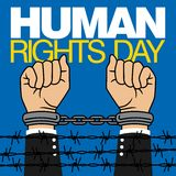 Human Rights Day Vector Template Stock Photos